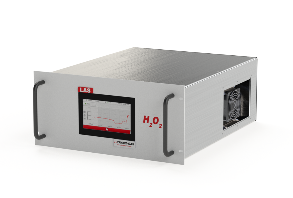 LAS Analysator H2O2, Laserabsorptionspektroskopie, Gasanalysator, H2O2