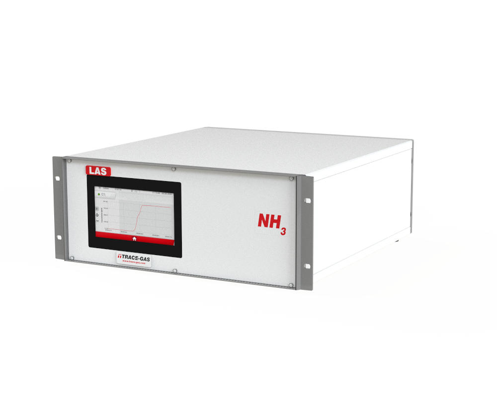 Laser absorption spectroscopy hot NH3
